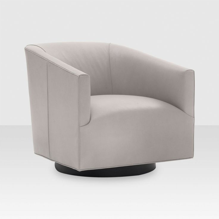 Cooper Leather Swivel Chair 31W X 34 D X 29 H $4655 Elte