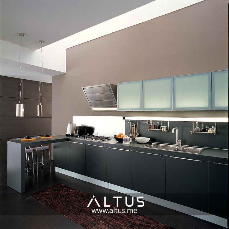 Alineal System By Euromobil, Made In Italy. Www.Altus.me #Kitchens