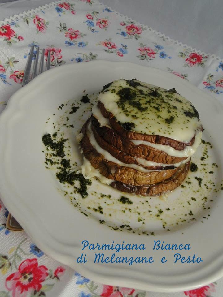 Parmigiana di Melanzane Bianca e Pesto
