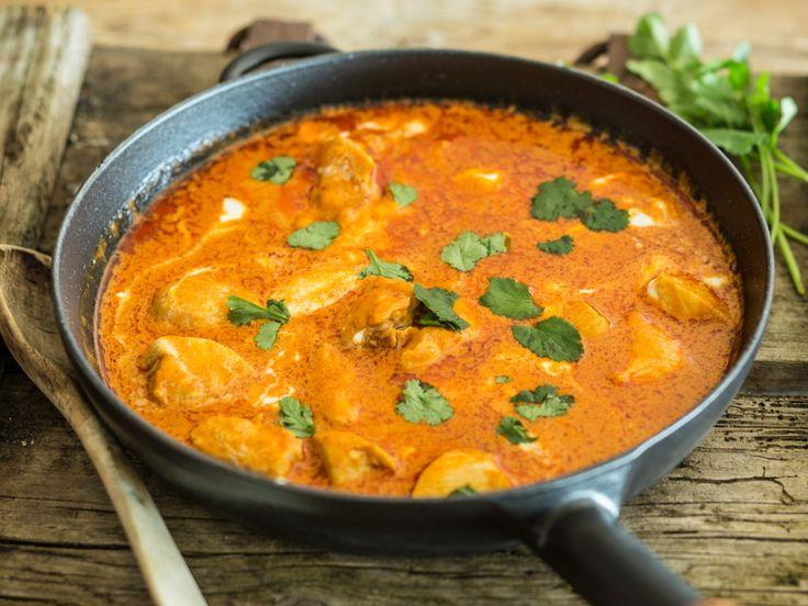 Indisches Butterhähnchen (Murgh Makhani)