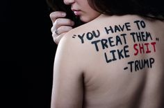 Student Creates Haunting Photos Using Trump's Quotes About Women