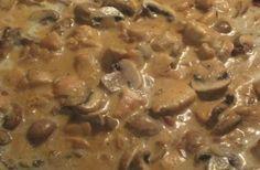Heerlijk romig herfstprutje vol smaak, lekker op de pasta, op rijst of aardappelpuree en makkelijk en snel te maken.