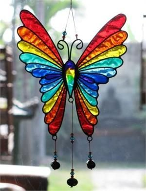 'Stain Glass Butterfly'