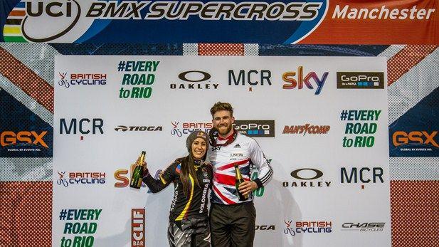 SportsDezk's blog.: Cycling:Liam Phillips wins UCI BMX Supercross Worl...
