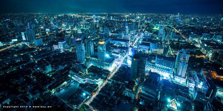 Bangkok, view from BaiYok Sky Hotel by Aey SrirathSomsawat on 500px