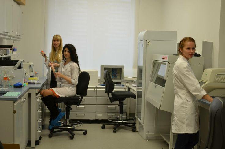 Young scientists in FNKC (www.fnkc.ru) labaratory