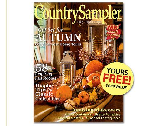 Country Sampler magazine order form