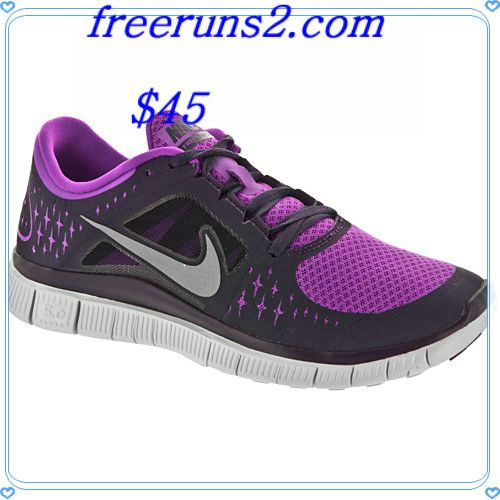 Womens Sz 5.5 Nike Free Run 3.0 Shoes Athletic Sneakers Exercise Bright Colorful