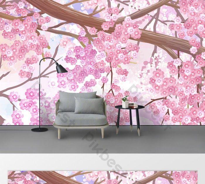 Terkeren 28 Gambar Bunga Sakura Dengan Cat Air Gaya Modern Generasi Baru Yang Indah Bunga Sakura Membuka Jual Hiasan Dindin Di 2020 Bunga Bunga Sakura Lukisan Bunga