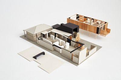 Architectural Model - Orient Street House, South Fremantle  Philip Stejskal Architecture