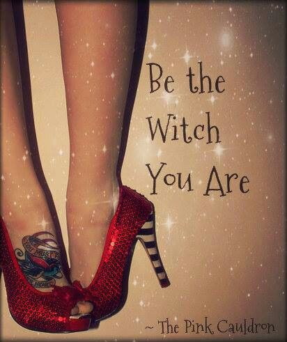 Are you a good witch or a bad witch? You know your mother is the good witch....lol