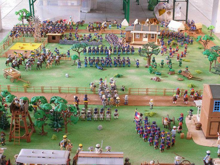 2010 Playmobil Exhibitions around the World