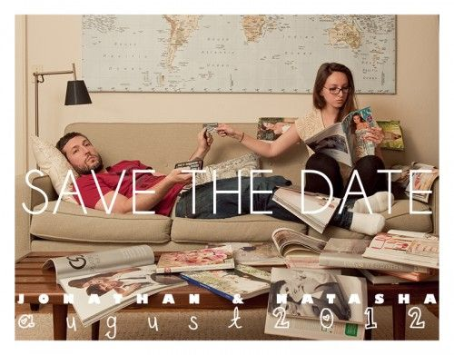 Hilarious save the date