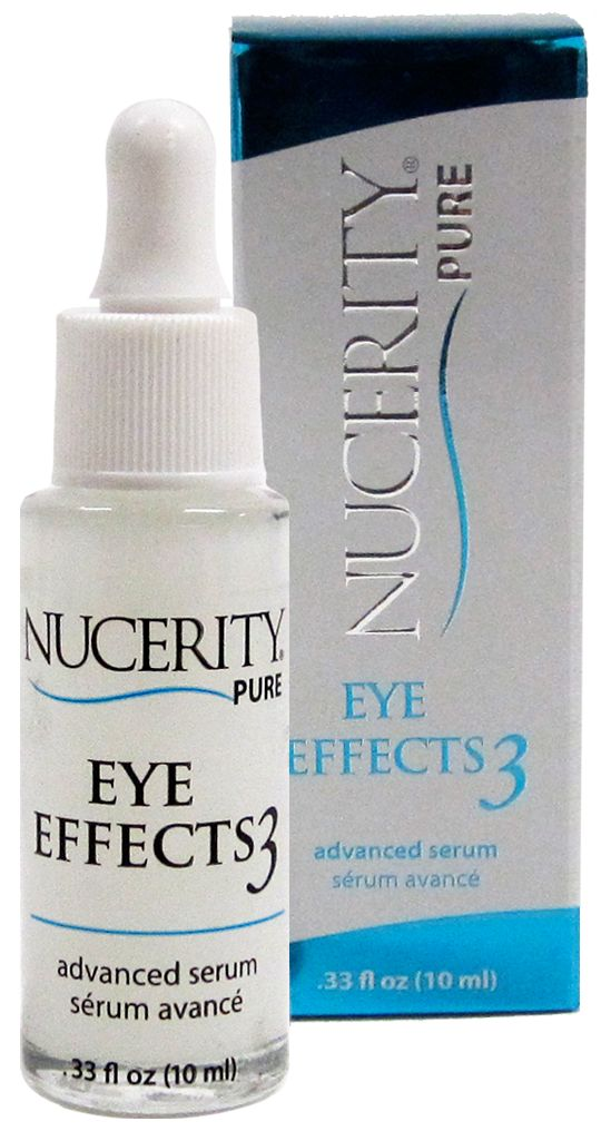 Eye Effects 3 Advanced Serum targets the eye zone's 3 critical signs of aging: crow's feet, puffy bags, and dark circles.