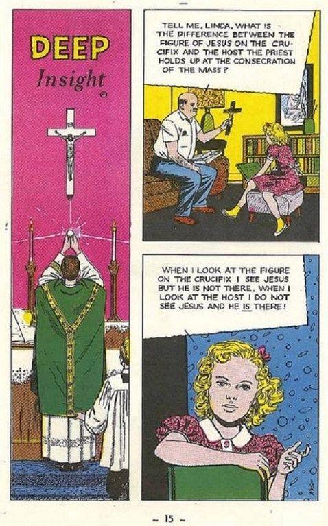 Catholic Cartoon from the 1950s : Catholicism | Catholic