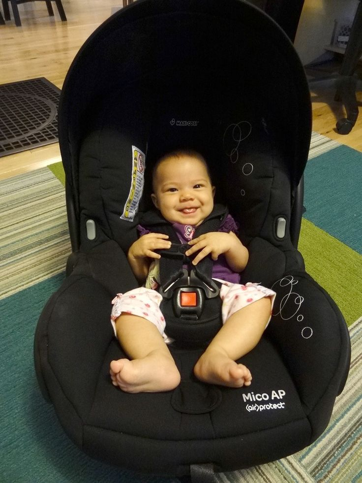 The Maxi Cosi Mico AP Carseat Is Lightweight And A Snap To Use