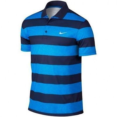 NWT Spring 2016 Nike Victory Bold Stripe Mens Golf Shirt 725516 406 SZ S Clothing, Shoes & Accessories:Men's Clothing:Athletic Apparel #nike #jordan #shoes houseofnike.com $48.60
