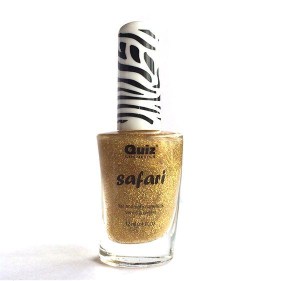 Safari gouden nagellak