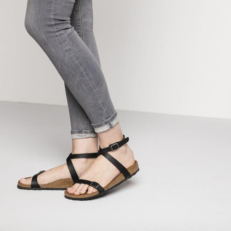Daloa Birko Flor Birkenstock Black Women Fashion Sandals