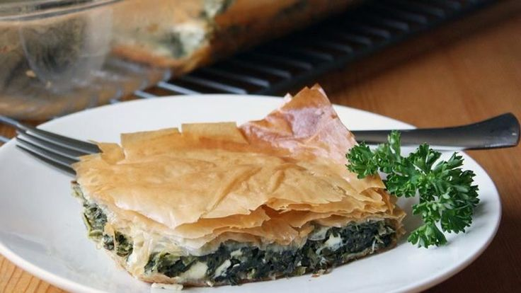 Our authentic Greek spanakopita uses Green Giant chopped spinach but you can substitute fresh spinach if you prefer.