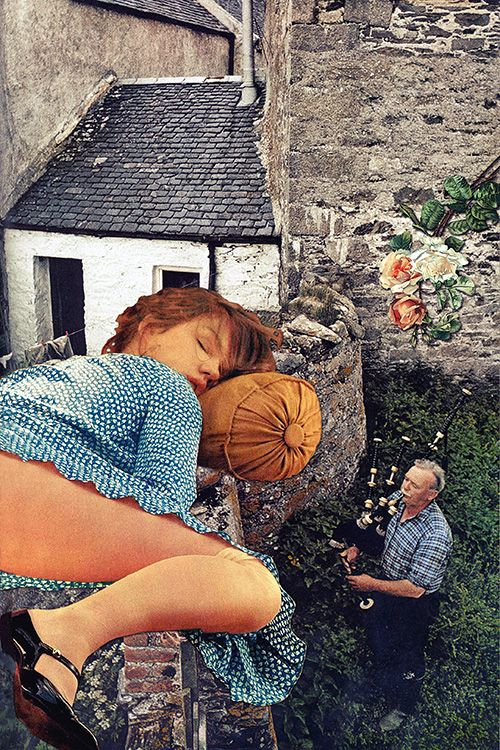 Croon by Eugenia Loli  Collage  Pinterest  Facebook