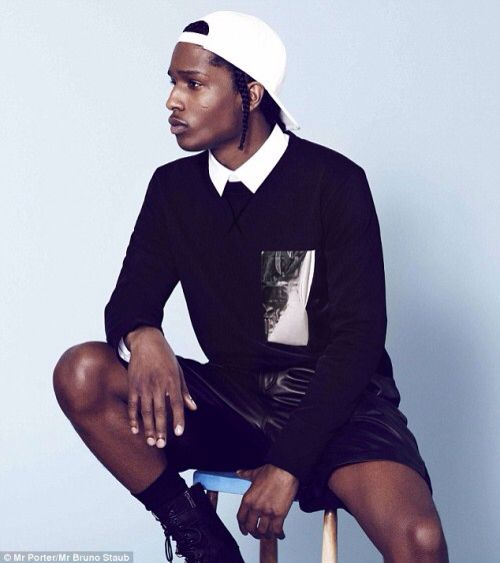 nice 25 Different Ways to Rock Asap Rocky Braids - Strong Personality