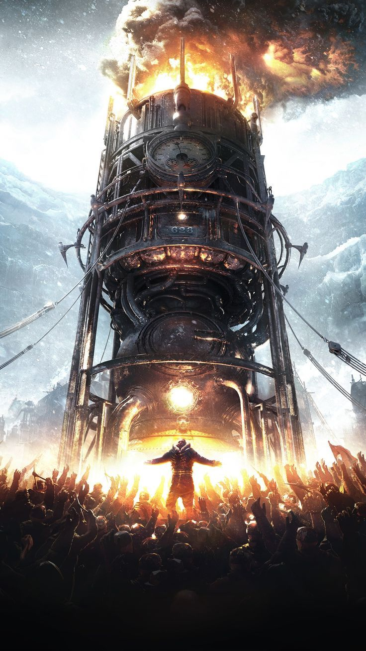 Android Wallpaper Misc Frostpunk 2018 Game Wallpapers Androidwallpaper4k Androidwallpaperblack And Steampunk Wallpaper Steampunk City Android Wallpaper