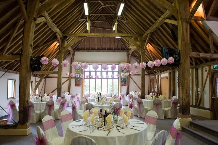 St. Barnabas Centre - beautiful Tudor barn wedding reception venue in Bishops Stortford Herts UK - www.weddingpartyreception.org.uk