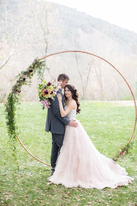 Wedding Arch Metal Round Wedding Arch Outdoor Moon For Weddings