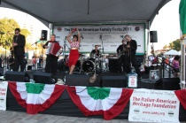 The Italian Family Festa is every August and includes fantastic entertainment, crafts, food and even grape stomping!