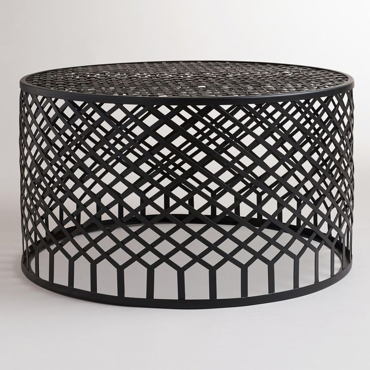 Coffee Table Coffee Table World Market Round Hairpin: Best 25+ Black Glass Coffee Table Ideas On Pinterest