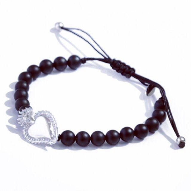 ➡️ Bracciale ex voto con onice satinato ⬅️ per averlo contattaci: direct, whatsup, email o semplicemente dal sito www.alemijewels.it #alemijewels #exvoto #shopping #accessories #jewelry #fashion #outfit #stone #fashionjewelry #argento #onice #cuore #heart