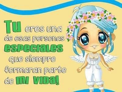 Tú eres una de esas personas especiales #amistad #amiga #amigos #amigas #amigo