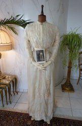 13 antique wedding dress 1913
