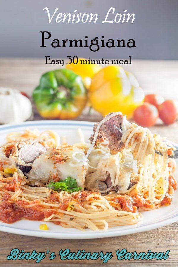 Venison Loin Parmigiana Recipe Bcc Foodgawker Pinterest