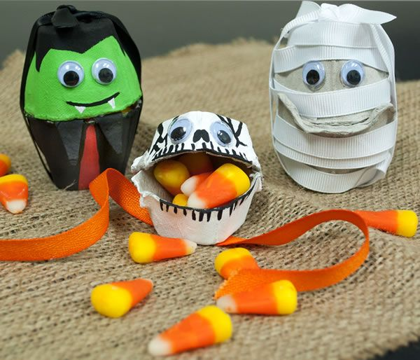 halloween is an egg cellent time to get crafty these halloween egg carton treat - Halloween Cartons