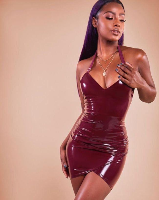 Sexy black girls latex
