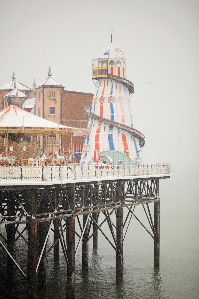 Brighton Pier, Brighton England