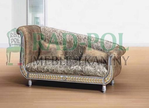 Szezlong 659N - Szezlongi - Rad-Pol - Meble Stylowe, meble włoskie, klasyczne meble retro, sofy stylowe, narożniki