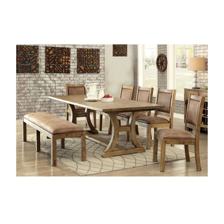 6 Piece SetsRustic Dining Room Sets Find The Table And