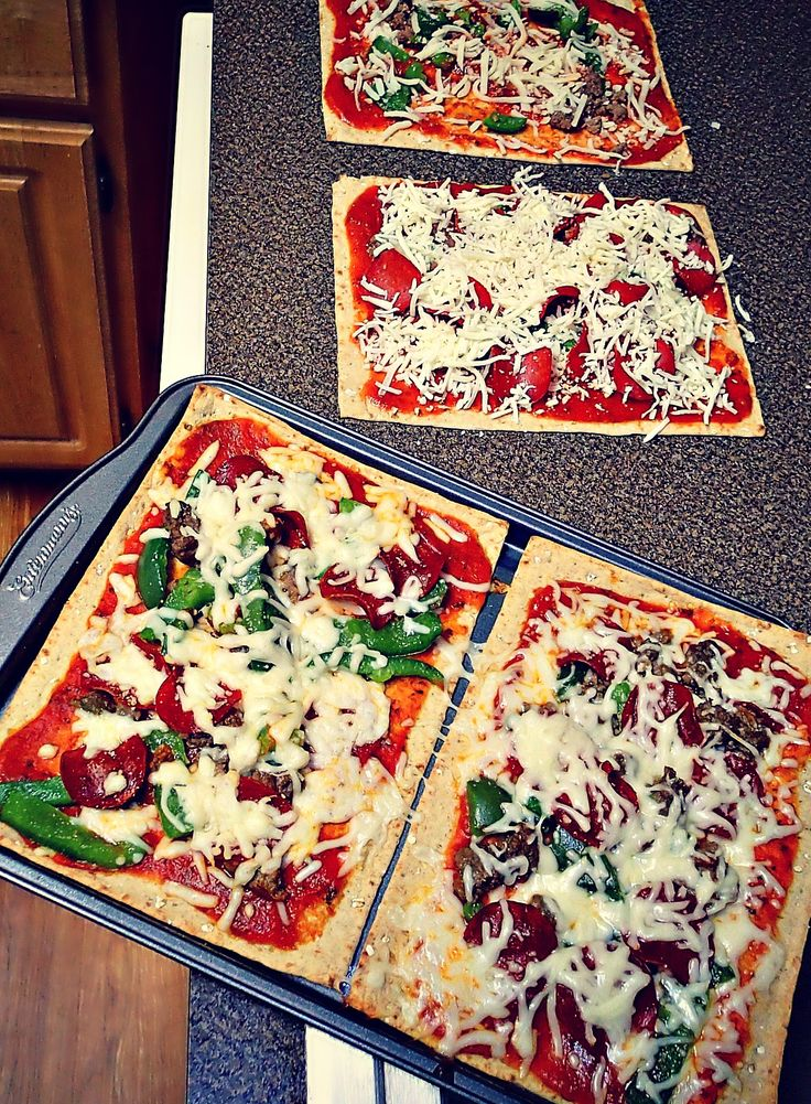 Low Calorie Flatbread Pizzas! – Simply Taralynn