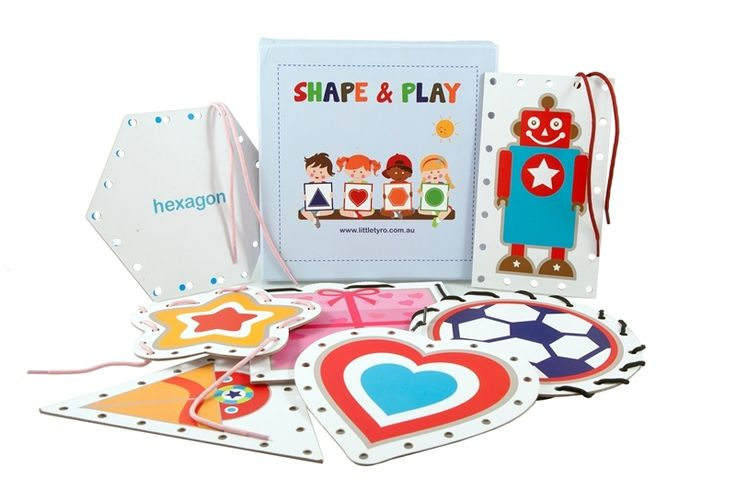 Christmas in #HTFStyle Shape & play threading cards