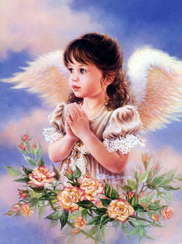 Открытки днем, открытки с ангелами для детей