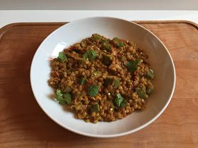 Lentil and Okra Curry // Curry di lenticchie e okra