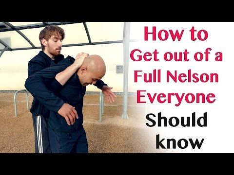 How to get out of a Full Nelson everyone should know | Wing Chun - YouTube