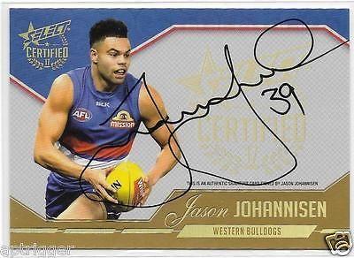 Australian Football Cards 166107: 2017 Select Certified Signature (Scs36) Jason Johannisen Western Bulldogs #043 -> BUY IT NOW ONLY: $39.95 on eBay!