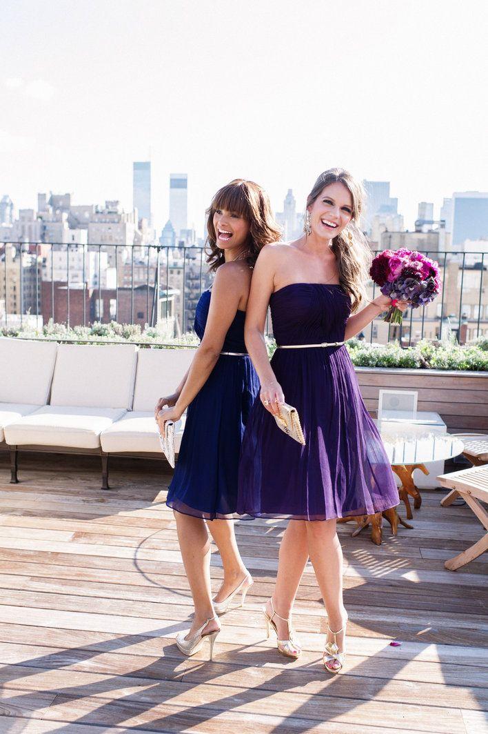 Robes violettes pour demoiselles d'honneur - Bridesmaids by White Label