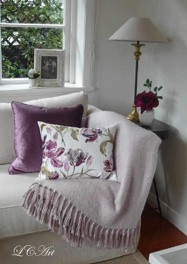 Lee Caroline A World Of Inspiration A Mauve Inspiration Laura Ashley