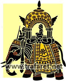 ИНДИЙСКИЕ ТРАФАРЕТЫ :: шаблоны для рисования в индийском стиле :: для декора, рисования и росписи