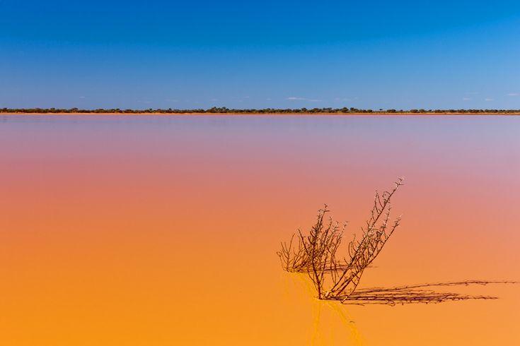 Paynes Find Lake, Western Australia.